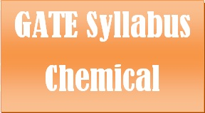 Gate syllabus for chemical